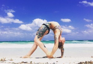 Paige - Backbend Beach