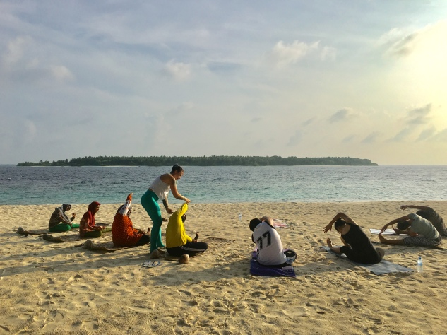 Day 1 Sunrise Yoga 1