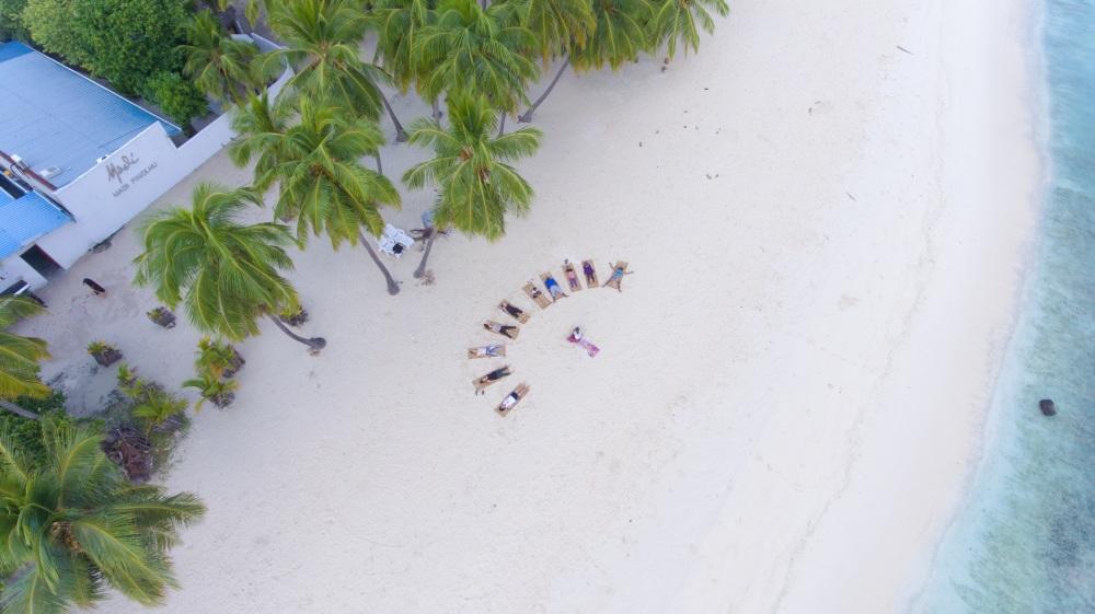 Day 2 Drone Island Spa Retreats Maalhos