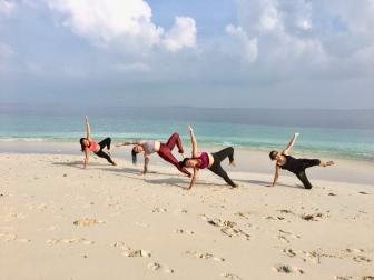 Day 2 Group morning Yoga