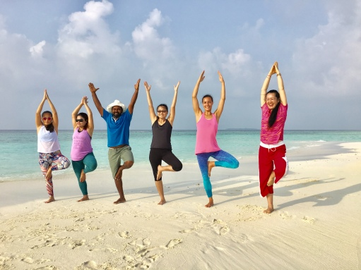 Day 3 Sandbank yoga