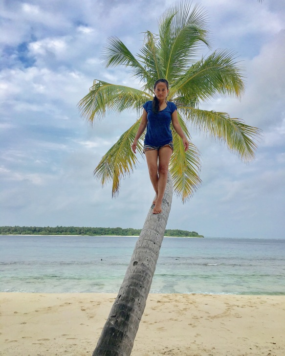 Day 4 Coconut climbing
