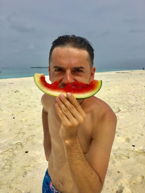 Day 6 Sandbank watermelon
