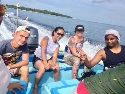 Day 7 Snorkelling trip