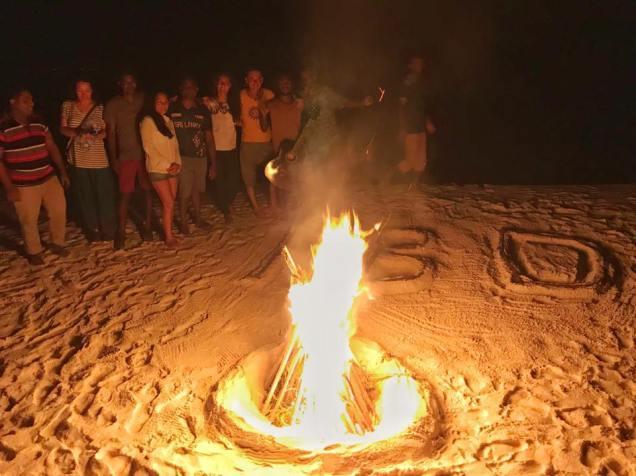 Day Surprise Bonfire