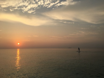 Day 3 - Sunset SUP 2
