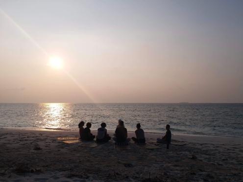 Day 4 - Sunset Yoga 5