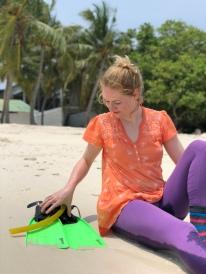Day 7 - Snorkelling Eleanor