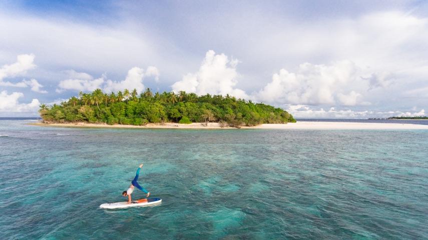 SUP Baa Atoll Maldives