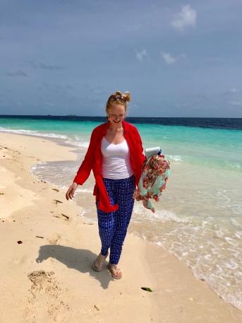 Retreat to Maldives July Day 1 beach
