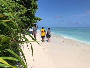 Retreat to Maldives July Day 1 Bikini beach