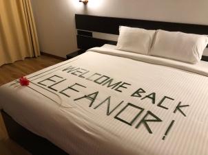 Retreat to Maldives July Day 1 Eleanor
