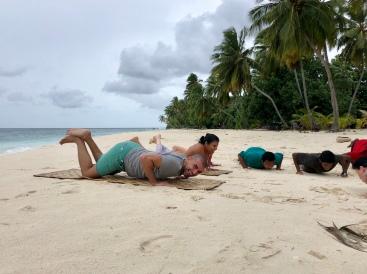 Retreat to Maldives July Day 2 FitKit