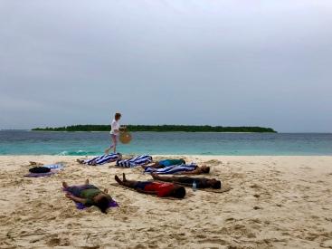 Retreat to Maldives July Day 2 Sunset Gong