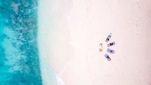 Retreat to Maldives July Day 3 Drone Yoga 2