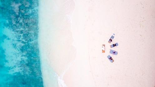 Retreat to Maldives July Day 3 Drone Yoga 2