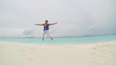Retreat to Maldives July Day 5 Sandbank Jump