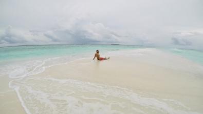 Retreat to Maldives July Day 5 Sandbank Karim
