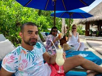 Retreat to Maldives July Day 6 Dusit mocktail