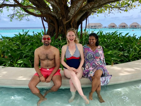 Retreat to Maldives July Day 6 Dusit pool