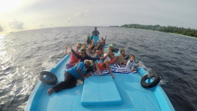 Retreat to Maldives July Day 7 Dolphin cruise
