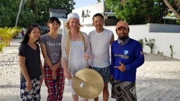 Retreat to Maldives July Day 9 Group
