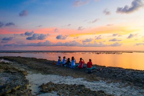 Island Spa Retreats Sunset Pranayama 1
