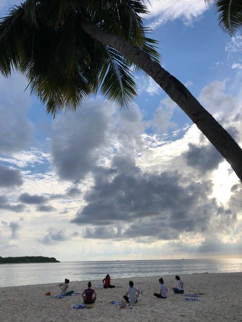 Nov 18 Retreat Day 1 Sunrise Yoga