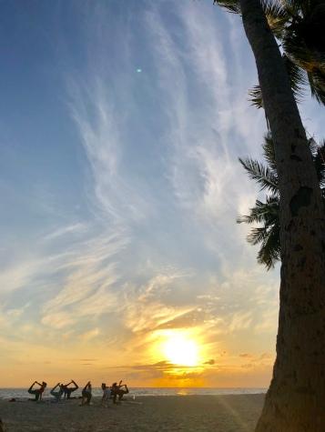 Nov 18 Retreat Day 2 Sunrise Yoga 1