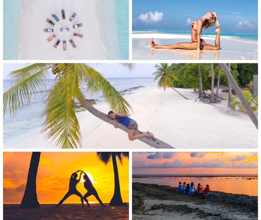 Island Spa Retreats Mix Postcard